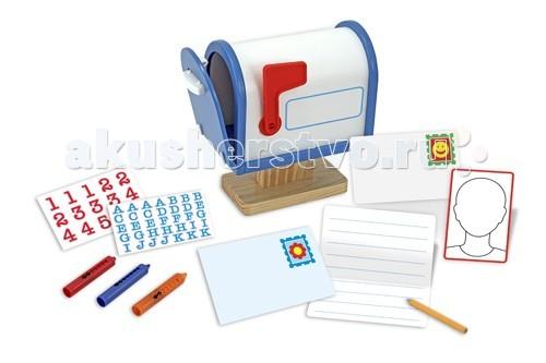 Деревянная игрушка Melissa &amp; Doug Классические игрушки Мой почтовый ящикКлассические игрушки Мой почтовый ящикДеревянная игрушка Melissa & Doug Классические игрушки Мой почтовый ящик - интересный, красочный, а самое главное познавательный набор в виде почтового ящичка.   Удивительный набор обязательно привлечет внимание Вашего малыша.   Игрушка научит вашего ребенка различать предметы, поспособствует развитию пространственного и логического мышления, анализу, воображению и речи ребенка, а также поможет в развитии моторике детских ручек и пальчиков.  В набор входит: классический почтовый ящик с открывающейся дверцей и поднимающимся флажком наклейки  маркеры для его украшения 2 конверта  бумага для письма.<br>