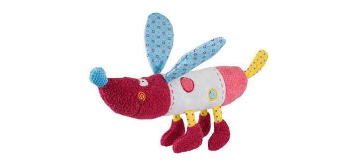 Мягкие игрушки BabyOno обнимашка собачка Rob 37 см babyono игрушка пищалка маленькая собачка