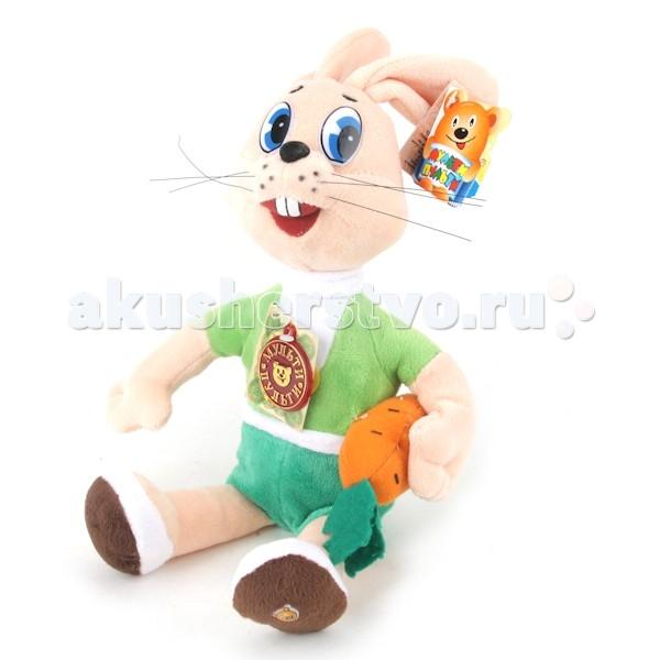 Мягкие игрушки Мульти-пульти Заяц с морковкой 33 см мульти пульти мягкая игрушка заяц топотун со звуком disney мульти пульти