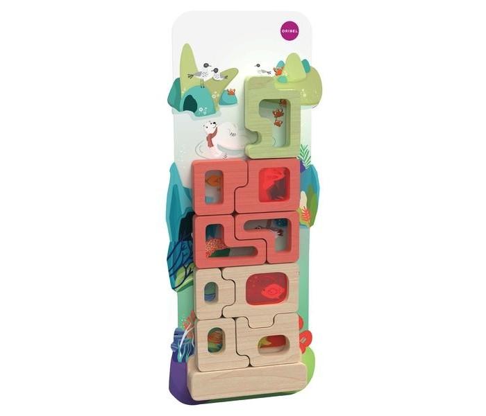 Деревянные игрушки Oribel Vertiplay Магнитная игра Таинственный аквариум игровые центры oribel лесные друзья