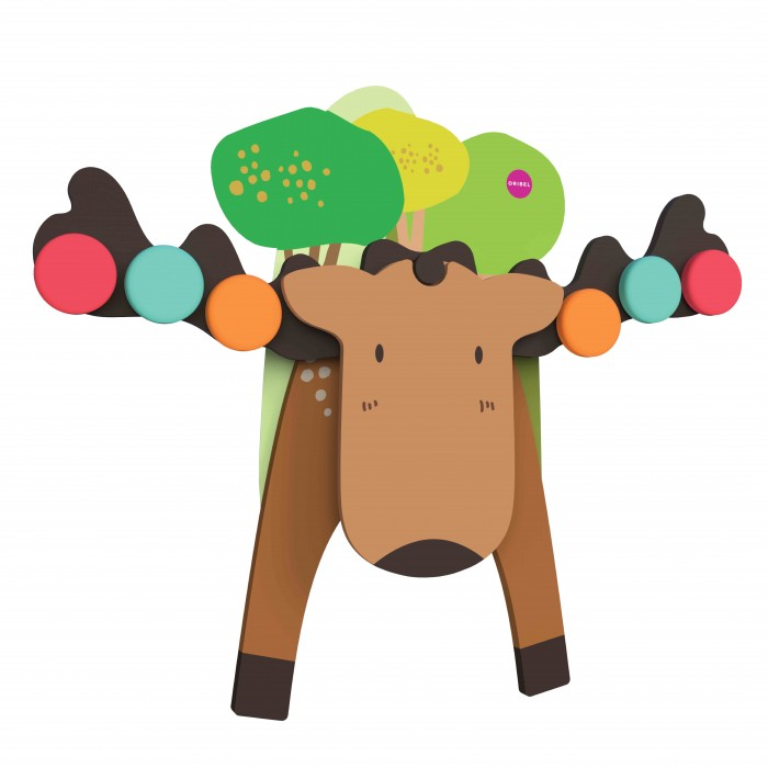 Деревянные игрушки Oribel Vertiplay Игра на баланс Лось Гуфи игровые центры oribel лесные друзья