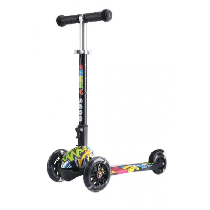 Купить Трехколесный самокат Funny Scoo MS-916 Ray Luxe со светящимися колесами в интернет магазине. Цены, фото, описания, характеристики, отзывы, обзоры