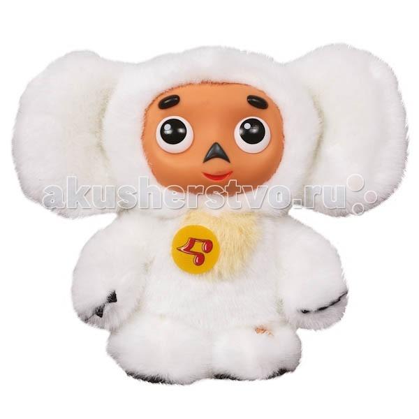 Мягкие игрушки Мульти-пульти Чебурашка белый 14 см