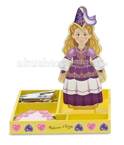 Деревянные игрушки Melissa & Doug Магнитные игры Переодень принцессу Элис