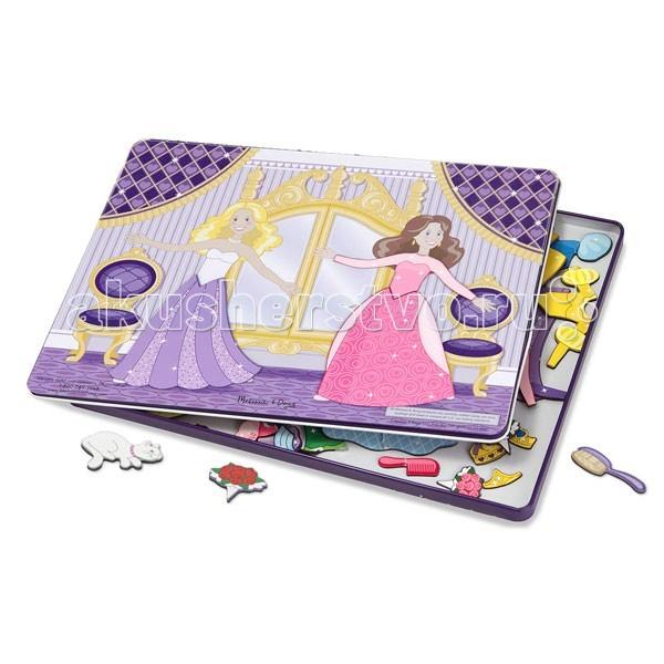 Деревянные игрушки Melissa & Doug Магнитные игры Принцессы на балу
