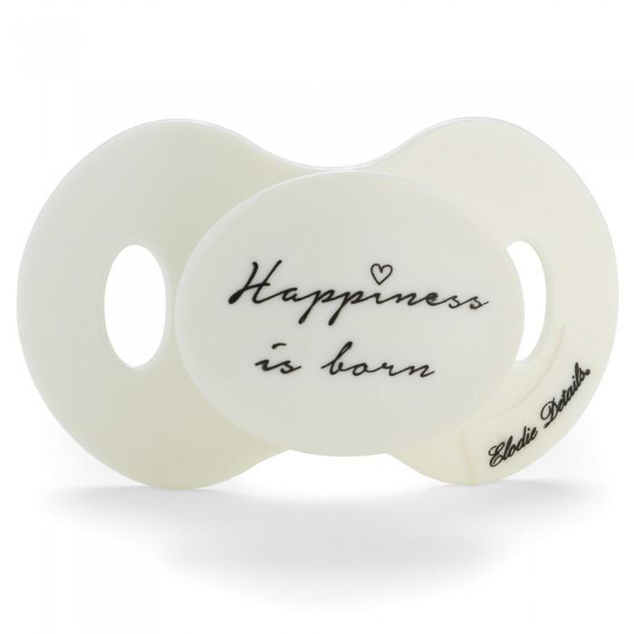 Пустышки Elodie Details Newborn Happiness is Born c 0-6 мес. happiness basics толстовка