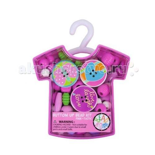 Наборы для создания украшений Bead Bazaar Колье Розовая кофточка