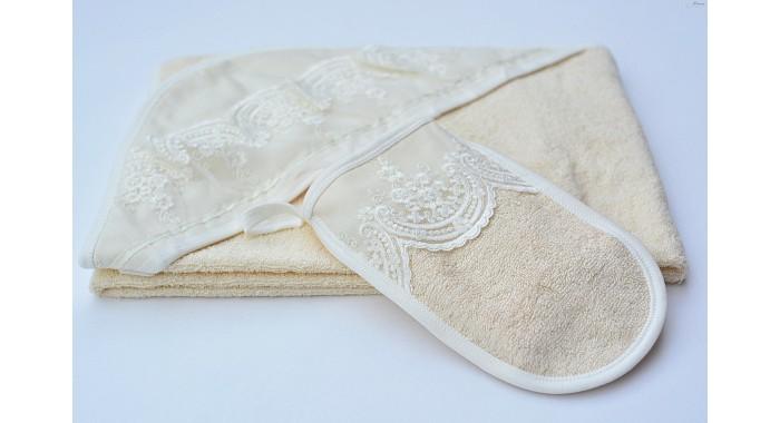 Полотенца Chepe Полотенце-уголок и рукавичка, Полотенца - артикул:486446