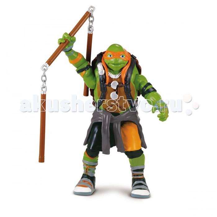 Игровые фигурки Turtles Фигурка Movie Line Черепашки-Ниндзя звук 14 см, Игровые фигурки - артикул:487066