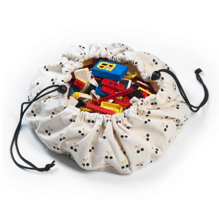 Ящики для игрушек Play&Go 2 в 1: мешок для хранения игрушек и игровой коврик вишенка um 2 go 3d printer parts upgrade silicone rubber heater mat heated bed pt100 sensor for ultimaker 2 go build platform