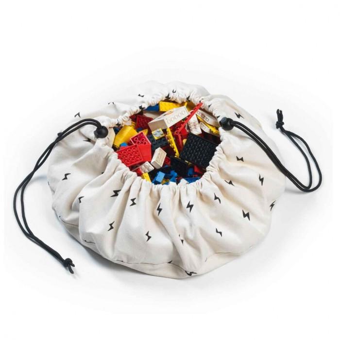 Play&Go 2 в 1: мешок для хранения игрушек и игровой коврик молния
