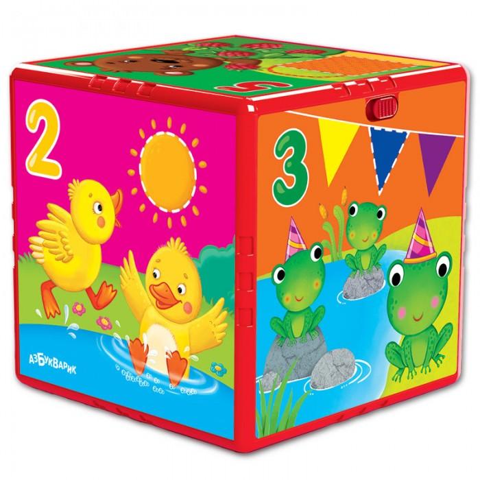 Развивающие игрушки Азбукварик Говорящий кубик Счет, формы, цвета азбукварик игрушка азбукварик говорящий кубик в гостях на ферме