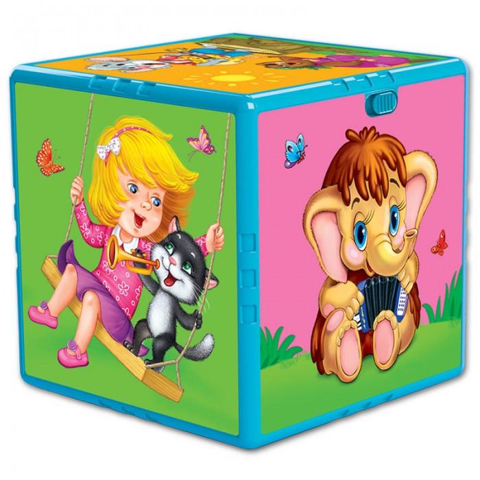Развивающие игрушки Азбукварик Говорящий кубик Любимые мультяшки азбукварик говорящий кубик азбукварик счет формы цвета