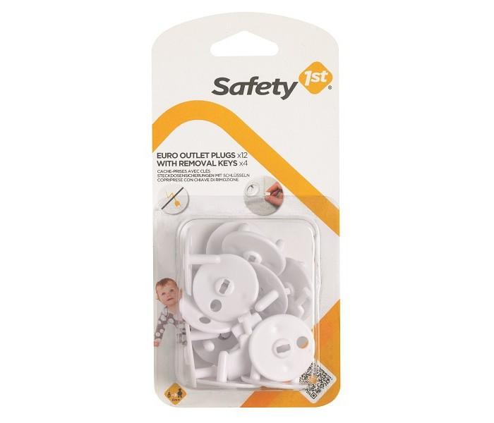 Купить Safety 1st Заглушка для розетки с ключом 12 шт. в интернет магазине. Цены, фото, описания, характеристики, отзывы, обзоры