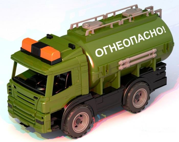 Машины Нордпласт Военная техника Цистерна Огнеопасно игровая техника нордпласт игровая техника