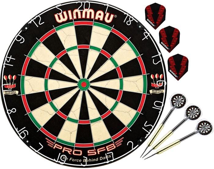 Спортивный инвентарь Winmau Комплект для игры в Дартс Base arsstar дартс праздничный двухсторонний 3 дротика