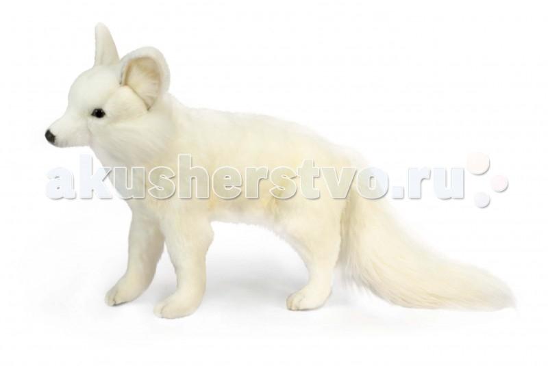 Мягкая игрушка Hansa Лисица белая стоящая 40 см