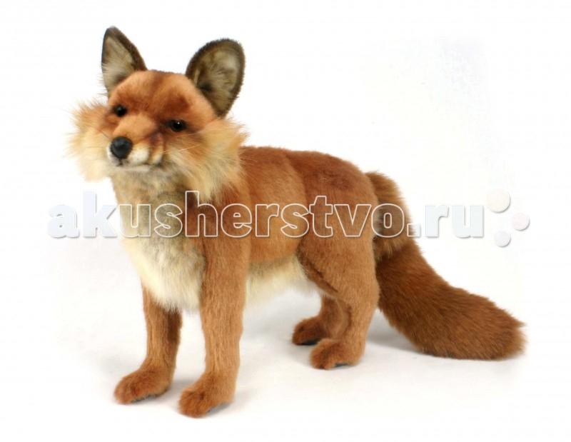 Купить Мягкие игрушки, Мягкая игрушка Hansa Рыжая лисица 40 см