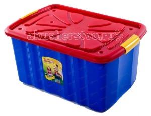 Ящики для игрушек Полимербыт Ящик для игрушек на колёсах