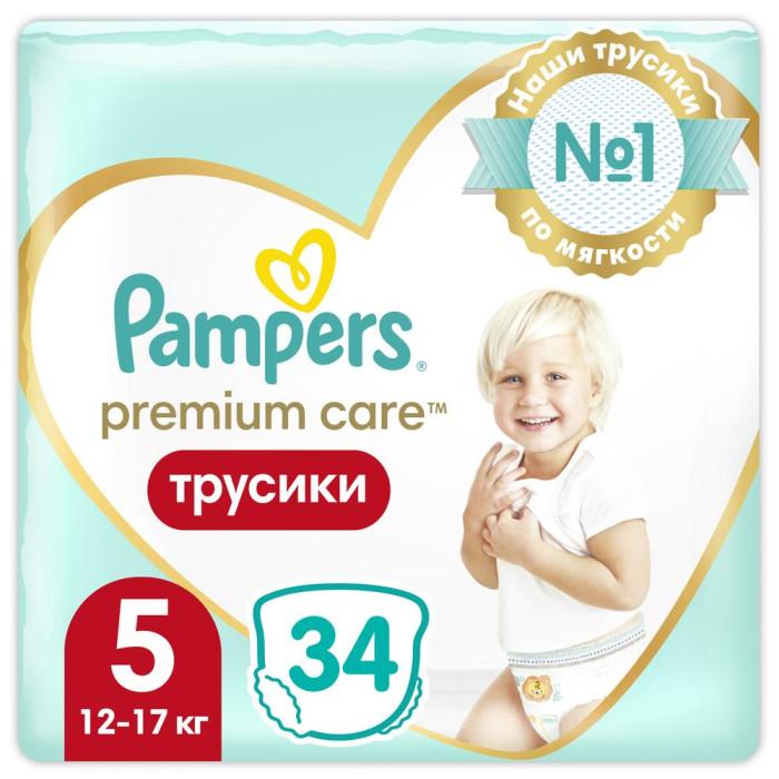 Подгузники-трусики Pampers Подгузники-трусики Premium Care Pants Junior р.5 (11-18 кг) 40 шт. подгузники детские pampers подгузники pampers premium care подгузники 11 18 кг 88 шт