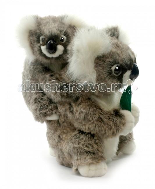 Мягкие игрушки Hansa Коала с детенышем 28 см мягкие игрушки hansa счастливая коала 23 см