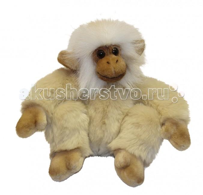 Мягкие игрушки Hansa Обезьянка сидящая палевая 20 см мягкие игрушки hansa обезьянка 28 см