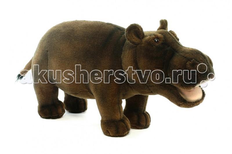 Мягкие игрушки Hansa Бегемот 30 см игрушки