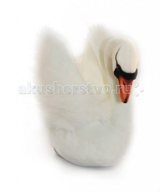 Мягкие игрушки Hansa Белый лебедь 32 см