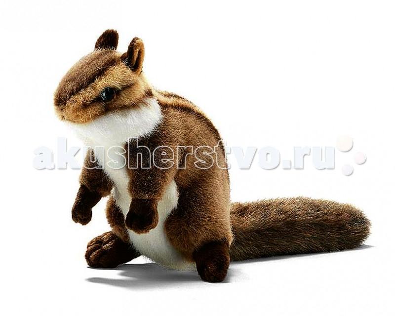 Мягкие игрушки Hansa Бурундук сидящий 16 см мягкие игрушки hansa норвежский лемминг морская свинка 16 см