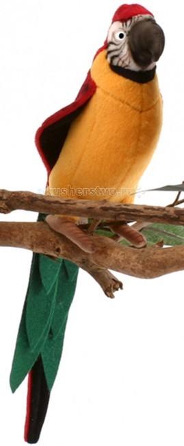 Мягкие игрушки Hansa Желтый попугай 37 см интерактивные игрушки hansa верблюд 110 см