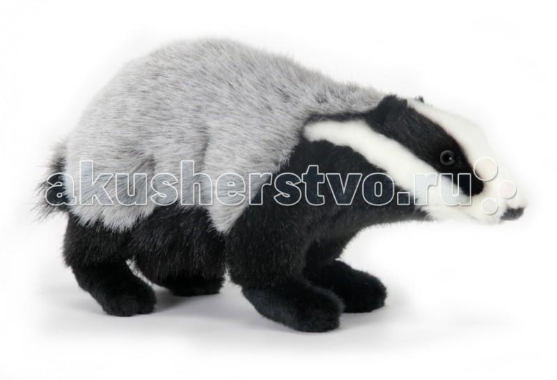 Купить Мягкие игрушки, Мягкая игрушка Hansa Барсук 30 см