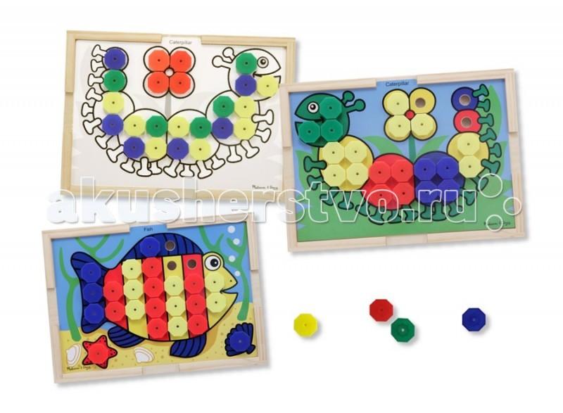 Деревянные игрушки Melissa & Doug Набор Подбери правильный цвет