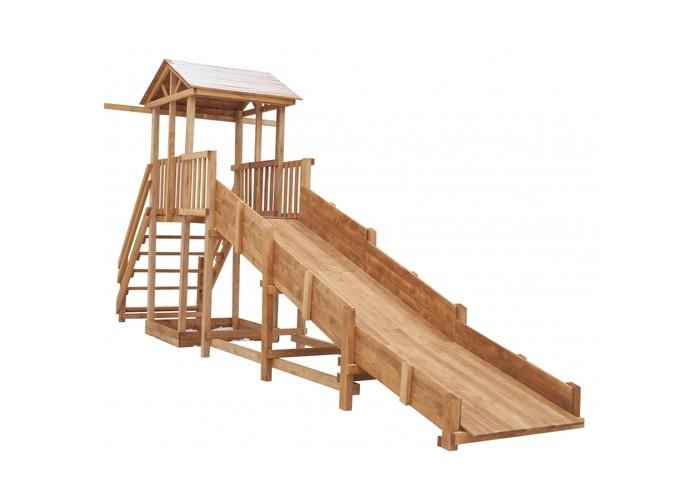 Купить Игровые комплексы, Можга (Красная Звезда) Детская площадка Спортивный городок c широкой лестницей