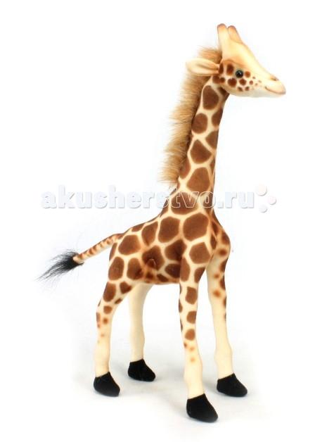 Мягкие игрушки Hansa Жираф 27 см мягкие игрушки hansa лебедь белый 27 см