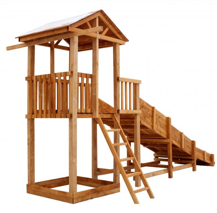 Можга (Красная Звезда) Детская площадка Спортивный городок с узкой лестницей  (СГ-Р919-Р918)