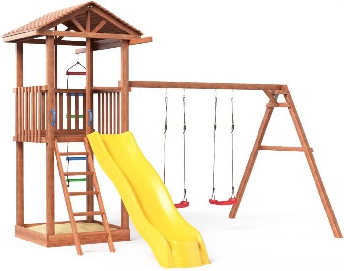 Можга (Красная Звезда) Детская площадка Спортивный городок 1 с качелями  (СГ1-Р912)