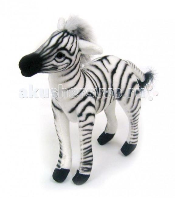 Мягкие игрушки Hansa Зебра 15 см