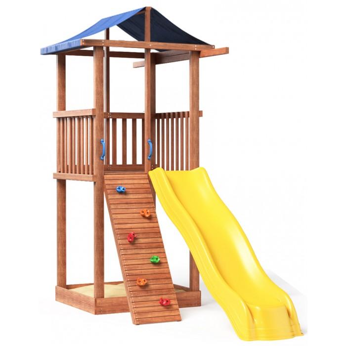 Картинка для Можга (Красная Звезда) Детская площадка Спортивный городок 4 с тентом
