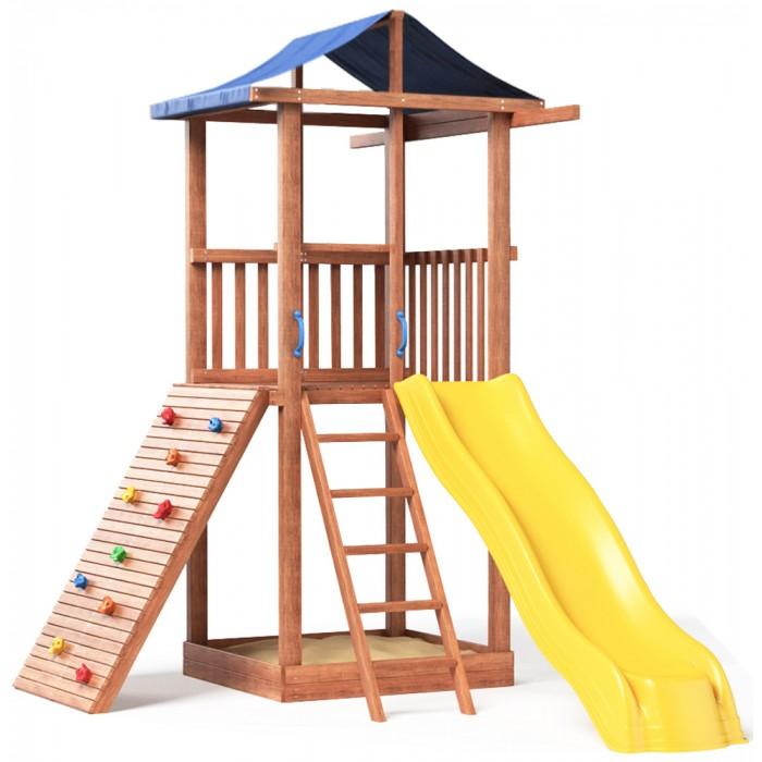 Купить со скидкой Можга (Красная Звезда) Детская площадка Спортивный городок 5 с тентом