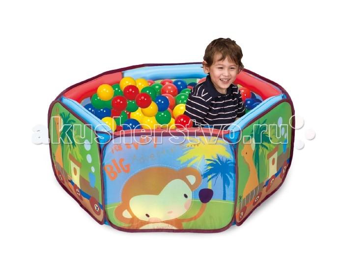 Палатки-домики Calida Игровая палатка с шарами Приключение зверят, Палатки-домики - артикул:492561