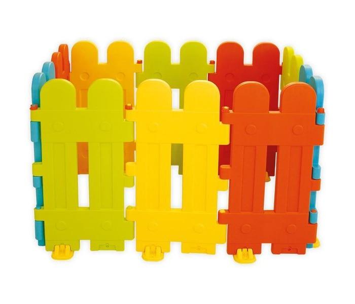 Dolu Ограждения 10 секцийОграждения 10 секцийDolu Ограждения 10 секций можно использовать как уличный или комнатный манеж, пока малыш еще совсем маленький. Когда кроха подрастет, то сможет использовать в разных играх.   Отличительной служит возможность его сборки в разных формах, а также есть возможность соединять два и более идентичных наборов в единое сооружение.  Размеры (габариты): 130 х 130 х80 см.<br>