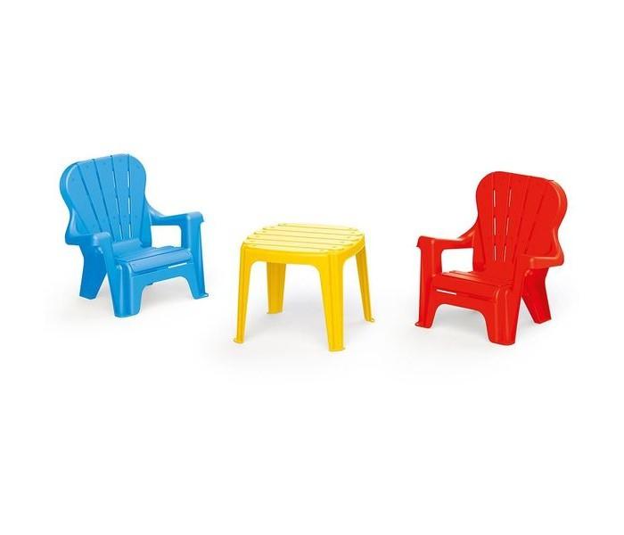 Пластиковая мебель Dolu Набор Стол и 2 стула, Пластиковая мебель - артикул:492676