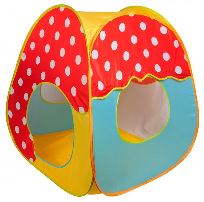 Палатки-домики Ching Ching Игровая палатка с шарами Гриб игровые домики babyone игровой домик ching ching грибок теремок от 14