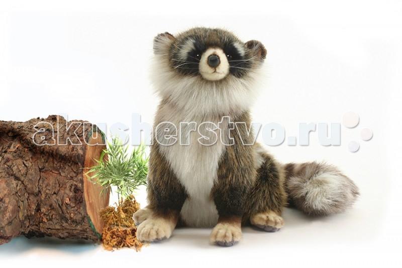 Мягкие игрушки Hansa Енот сидящий 24 см игрушки