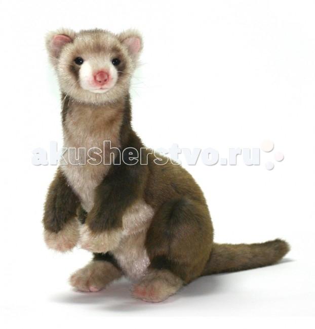 Мягкая игрушка Hansa Хорек коричневый 32 см