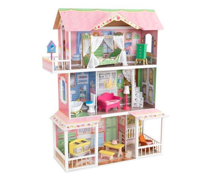 Купить Кукольные домики и мебель, KidKraft Деревянный дом для Барби Карамельная Саванна