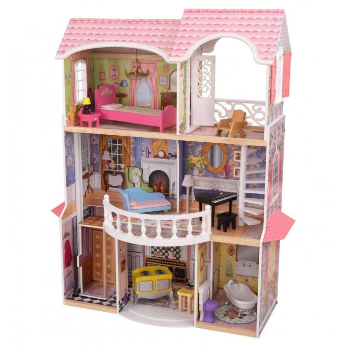 KidKraft Винтажный кукольный дом для Барби Магноли.