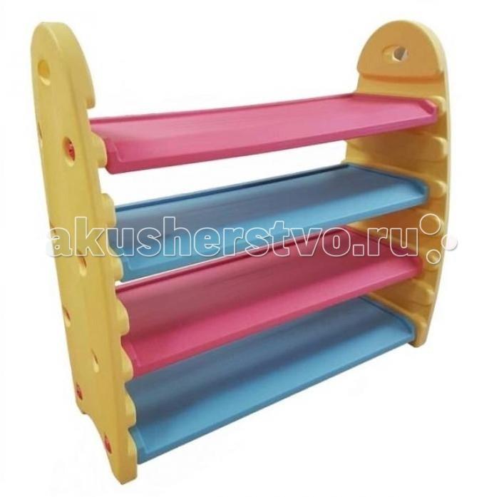 Ящики для игрушек King Kids Многофункциональная полка для игрушек и книг, Ящики для игрушек - артикул:494081