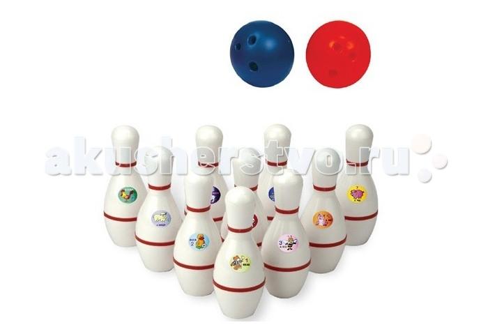 Спорт и отдых , Спортивный инвентарь Edu-Play Набор для боулинга 21 см арт: 494221 -  Спортивный инвентарь