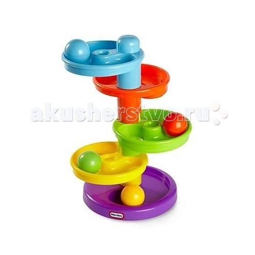 Развивающие игрушки Little Tikes Горка-спираль 635007 little tikes горка спираль